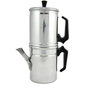 Ilsa caffettiera napoletana liscia