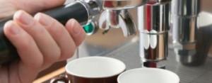Macchina caffè espresso per il bar