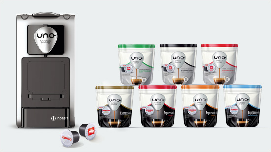 Capsule caffè Illy Uno system