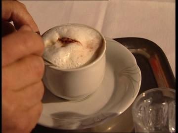 caffè austriaco in tazza