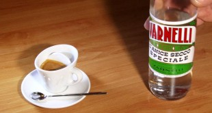 Caffè corretto con liquore