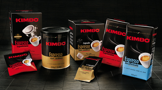 caffé kimbo screen
