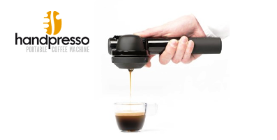 Handpresso screen