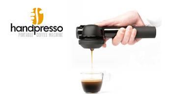 Handpresso screen