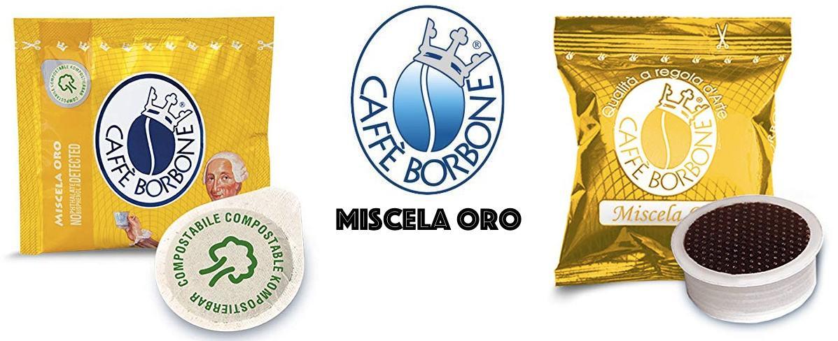 Caffe Borbone miscela oro cialda capsula