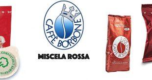 Caffe Borbone miscela rossa cialda capsula macinato