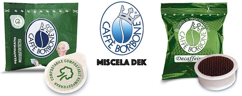 Caffe Borbone miscela verde dek cialda capsula