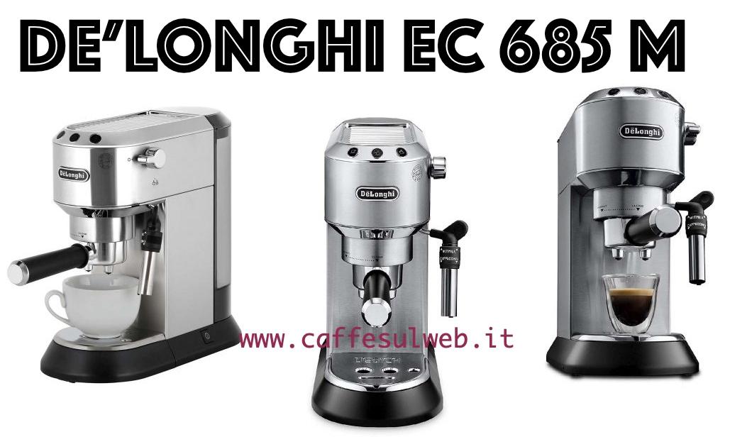 De Longhi EC 685 M Recensioni Opinione Prezzo