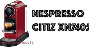 Nespresso Citiz XN7405 Recensioni Opinione Prezzo
