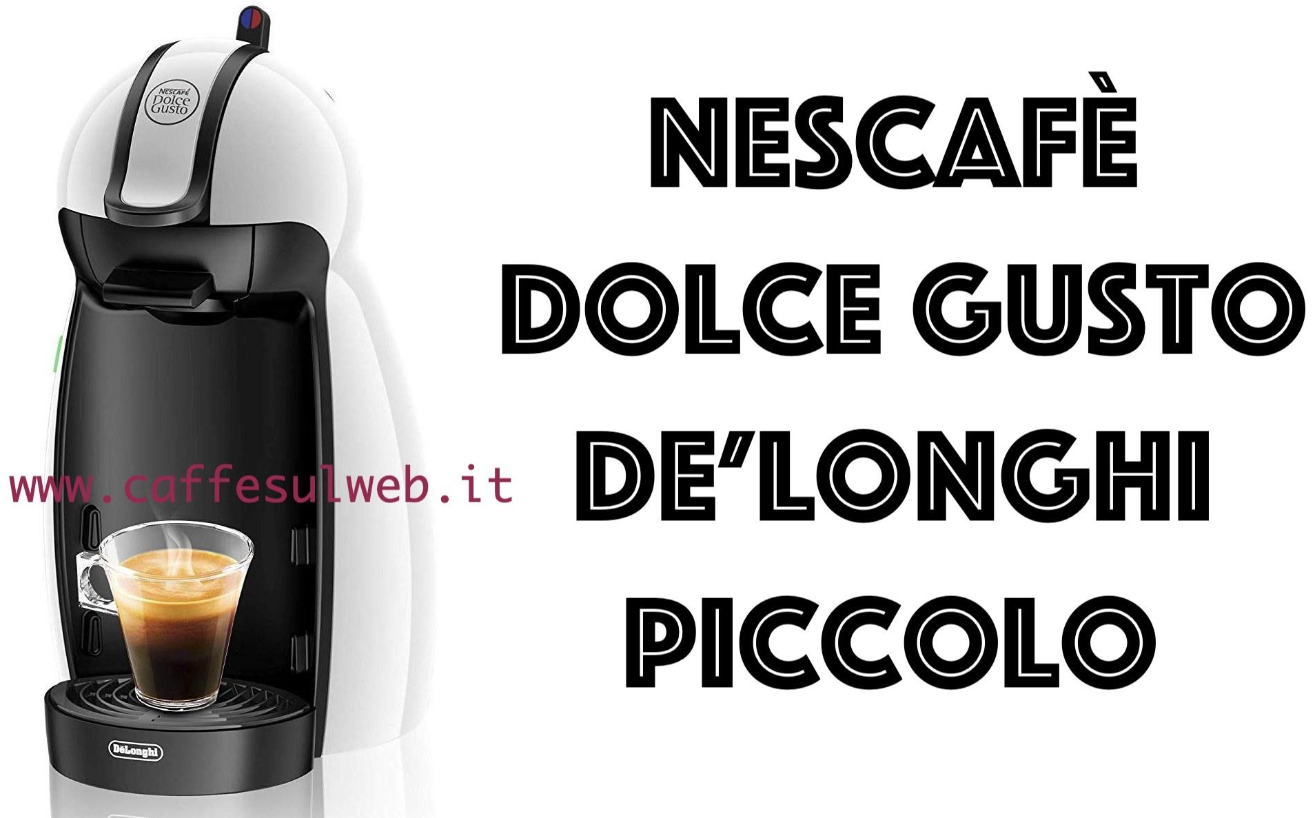 Nescafe Dolce Gusto Piccolo EDG 100 W Recensioni Opinione Prezzo